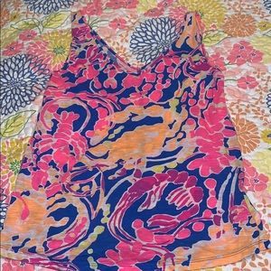 Small Lilly Pulitzer Tank Top